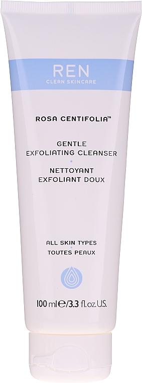 Sanftes Gesichtspeeling für alle Hauttypen - REN Rosa Centifolia Gentle Exfoliating Cleanser — Bild N1