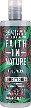 Düfte, Parfümerie und Kosmetik Conditioner für normales und trockenes Haar mit Aloe Vera - Faith In Nature Aloe Vera Conditioner