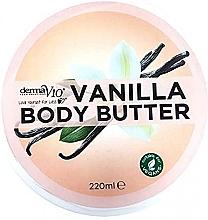 Düfte, Parfümerie und Kosmetik Körperbutter mit Vanille - Derma V10