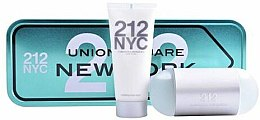 Düfte, Parfümerie und Kosmetik Carolina Herrera 212 NYC Gift Set - Kosmetikset (Eau de Toilette/100ml + Körperlotion/100ml)