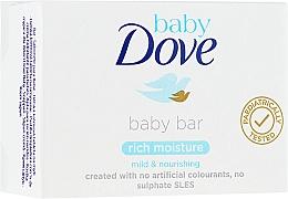 Düfte, Parfümerie und Kosmetik Parfümierte Körperseife - Dove Baby Bar Rich Moisture