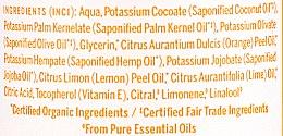 18in1 Flüssige Hand- und Körperseife mit Zitrus-Orange - Dr. Bronner's 18-in-1 Pure Castile Soap Citrus & Orange — Bild N7