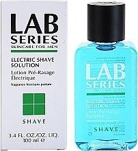 Düfte, Parfümerie und Kosmetik Pre Shave Lotion für Elektrorasierer - Lab Series Electric Shave Solution