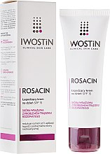 Düfte, Parfümerie und Kosmetik Beruhigende Tagescreme für das Gesicht SPF 15 - Iwostin Rosacin Soothing Day Cream Against Redness SPF 15