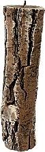 Düfte, Parfümerie und Kosmetik Duftkerze 7x26 cm Brauner Baumstumpf - Artman Stump