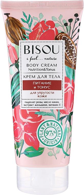 Körpercreme mit Kakaobutter und Vitamin E - Bisou Rose&Cacao Body Cream