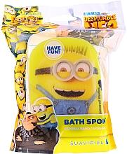 Düfte, Parfümerie und Kosmetik Kinder-Badeschwamm Minions gelb - Suavipiel Minnioins Bath Sponge