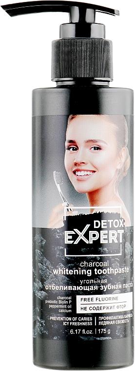 Aufhellende Zahnpasta mit Aktivkohle - Detox Expert Charcoal Whitening Toothpaste