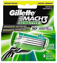Düfte, Parfümerie und Kosmetik Ersatzklingen 2 St. - Gillette Mach3 Sensitive
