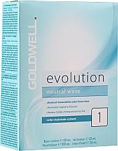 Düfte, Parfümerie und Kosmetik Goldwell Evolution Neutral Wave 1 New - Haarpflegeset (Basislotion 60ml + Aktivatorlotion 20ml + Neutralizer 100ml + Haarfluid 30ml)