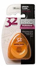 Düfte, Parfümerie und Kosmetik Zahnseide 32 Pearls PRO in orangefarbenem Etui - Modum 32 Perlen Dental Floss