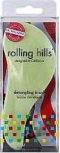 Düfte, Parfümerie und Kosmetik Entwirrbürste hellgrün - Rolling Hills Detangling Brush Travel Size Light Green
