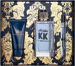 Düfte, Parfümerie und Kosmetik Dolce&Gabbana K by Dolce&Gabbana - Duftset (Eau de Toilette 100ml + Duschgel 50ml + Eau de Toilette Mini 10ml)