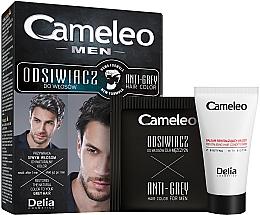 Düfte, Parfümerie und Kosmetik Anti-Grau Haarfarbe für Männer schwarz - Delia Cameleo Men Anti Grey Hair Color
