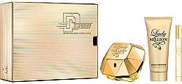 Düfte, Parfümerie und Kosmetik Paco Rabanne Lady Million - Duftset (Eau de Parfum 80ml + Eau de Parfum 10ml + Körperlotion 100ml)