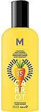 Düfte, Parfümerie und Kosmetik Wasserfestes Bräunungslotion-Spray für den Körper SPF 15 - Mediterraneo Sun Carrot Sunscreen Dark Tanning SPF15