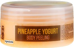 Düfte, Parfümerie und Kosmetik Nährendes Körperpeeling auf Meersalzbasis mit Ananas-Joghurt-Duft - Stani Chef's Pineapple Yogurt Body Peeling