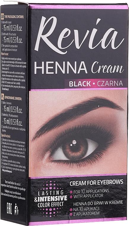 Augenbrauen- und Wimpernfarbe - Revia Eyebrows Henna