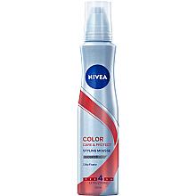 Düfte, Parfümerie und Kosmetik Schaumfestiger für coloriertes Haar - Nivea Color Care & Protect Styling Mousse