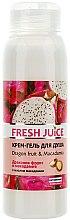 Düfte, Parfümerie und Kosmetik Creme-Duschgel mit Drachenfrucht & Macadamia - Fresh Juice Energy Mix Dragon Fruit & Macadamia
