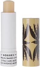 Düfte, Parfümerie und Kosmetik Pflegender Lippenbalsam mit Aloe Vera - Korres Lip Balm Extra Care Aloe Stick