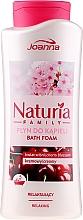 Düfte, Parfümerie und Kosmetik Badeschaum - Joanna Naturia Family Bath Foam Cherry Blossom