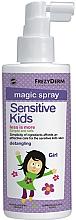 Düfte, Parfümerie und Kosmetik Duftende Haarlotion für Mädchen - Frezyderm Sensitive Kids Magic Spray for Girls