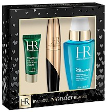 Düfte, Parfümerie und Kosmetik Set - Helena Rubinstein Eye Love Wonder Blacks Set (mascara/7ml eye/ser/3ml + eye/lot/50ml)