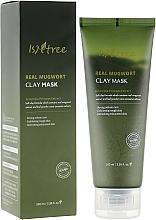 Düfte, Parfümerie und Kosmetik Tonmaske für das Gesicht mit Beifuß - Isntree Real Mugwort Clay Mask