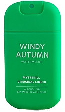 Düfte, Parfümerie und Kosmetik Antibakterielles Handspray mit Wassermelone - HiSkin Antibac Hand Spray Windy Autumn