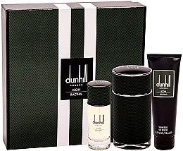 Düfte, Parfümerie und Kosmetik Alfred Dunhill Icon Racing - Duftset (Eau de Parfum 100ml+Eau de Parfum 30ml+Duschgel 90ml)