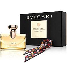 Düfte, Parfümerie und Kosmetik Bvlgari Splendida Iris D`Or - Duftset (Eau de Parfum/100ml + Schal)