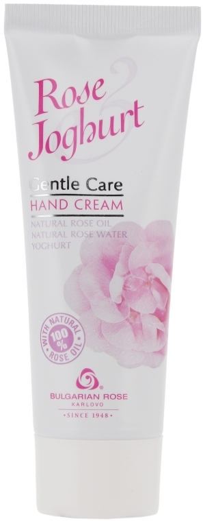 Handcreme - Bulgarian Rose Rose & Joghurt — Bild N2