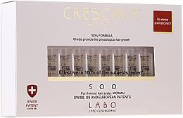 Düfte, Parfümerie und Kosmetik Ampullen gegen mittelstarken und fortschreitenden Haarausfall für Damen - Labo Crescina HFSC 500 Re-Growth Woman