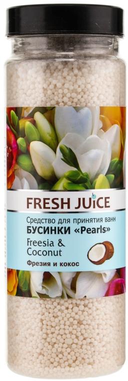 Badeperlen mit Freesie und Kokosnuss - Fresh Juice Bath Bijou Rearls Freesia and Coconut