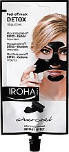 Düfte, Parfümerie und Kosmetik Peel-Off Gesichtsmaske mit Aktivkohle - Iroha Nature Detox Peel Off Face Mask