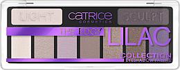 Düfte, Parfümerie und Kosmetik Lidschatten-Palette - Catrice The Edgy Lilac Collection Eyeshadow Palette