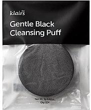 Düfte, Parfümerie und Kosmetik Gesichtswaschschwamm schwarz - Klairs Gentle Black Cleansing Puff