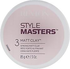 Düfte, Parfümerie und Kosmetik Mattierende Modellierpaste Starker Halt - Revlon Professional Style Masters Matt Clay