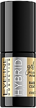 Düfte, Parfümerie und Kosmetik Hybrid Nagellack Base - Eveline Cosmetics Hybrid Professional Base Coat