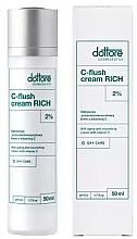Düfte, Parfümerie und Kosmetik Reichhaltige und nährende Anti-Falten Gesichtscreme mit Vitamin C - Dottore C-Flush Cream Rich