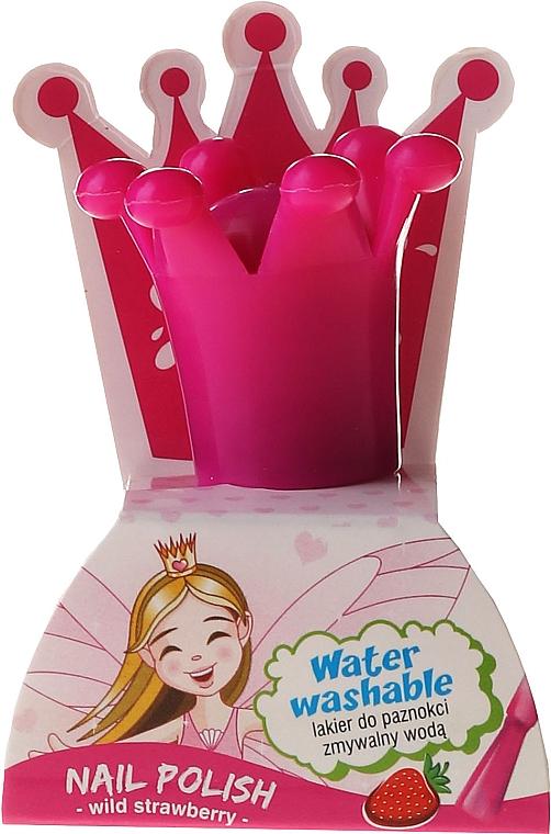 Kinder-Nagellack mit Erdbeerduft, abwaschbar mit Wasser - Chlapu Chlap Nail Polish