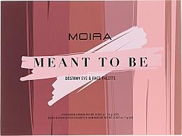 Düfte, Parfümerie und Kosmetik Make-up Palette - Moira Meant To Be Eye & Face Palette