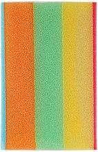 Düfte, Parfümerie und Kosmetik Badeschwamm rechteckig Regenbogen 1 - Cari