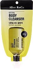 Düfte, Parfümerie und Kosmetik Natürliches vitalisierendes und feuchtigkeitsspendendes Duschgel - Alice Koco Natural Body Cleanser