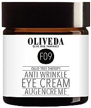 Düfte, Parfümerie und Kosmetik Straffende und glättende Augencreme gegen Falten - Oliveda F09 Anti Wrinkle Eye Cream