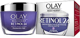 Düfte, Parfümerie und Kosmetik Feuchtigkeitsspendende Anti-Aging Nachtcreme mit Retinol - Olay Regenerist Retinol24 Cream Night Moisturiser