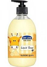 Düfte, Parfümerie und Kosmetik Flüssigseife Kaugummi - On Line Kids Time Liquid Soap Bubble Gum