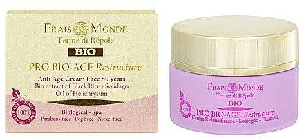 Anti-Aging Gesichtscreme 50+ - Frais Monde Pro Bio-Age Restructure AntiAge Face Cream 50Years — Bild N1