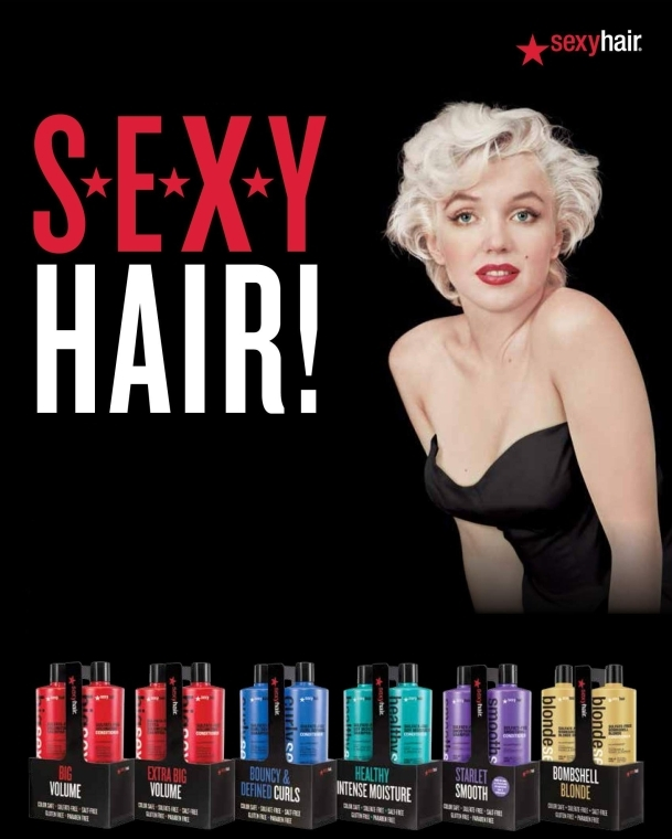 Hitzeschutzspray - SexyHair HealthySexyHair Soya Want Flat Hair Hot Iron Spray — Bild N3